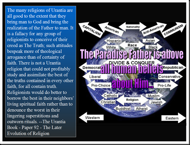 The Paradise Father is Above All Human Beliefs about Him...