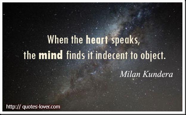 When the Heart Speaks... 1