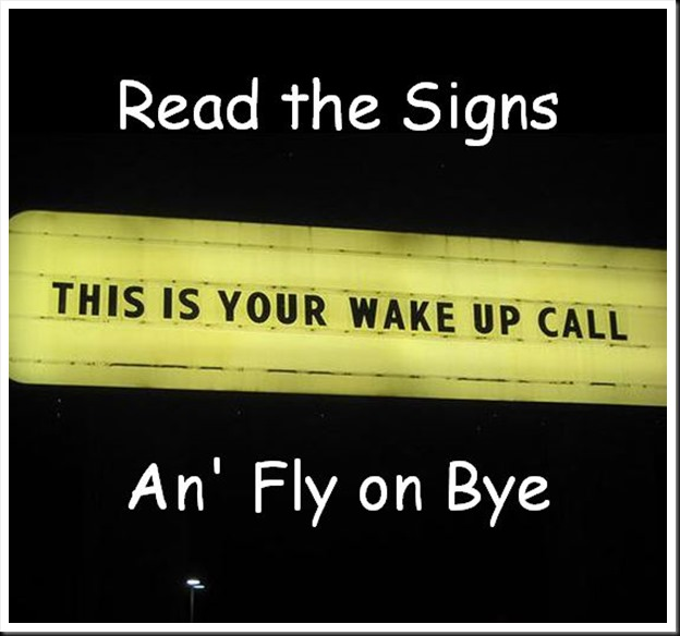 Read the Signs An Fly on Bye 1