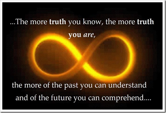 The More Truth You ARE...